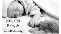 20% Off Baby & Christening